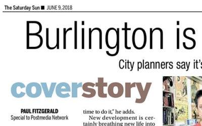Burlington is a Boom Town Now