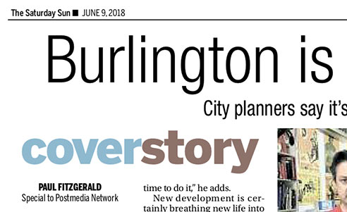 Burlington is a Boom Town Now