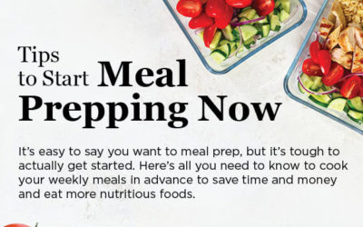 Tips to Start Meal Prepping Now