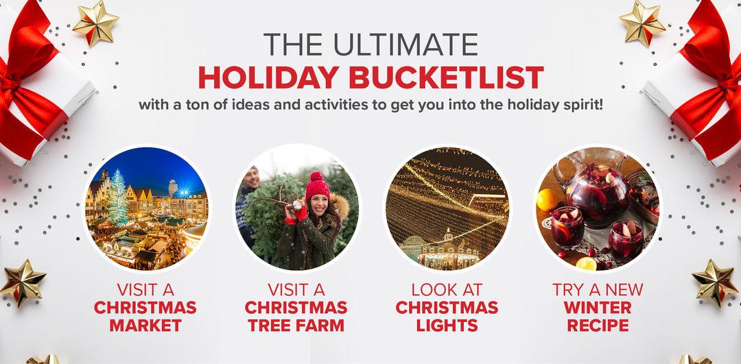 Ultimate Holiday Bucketlist